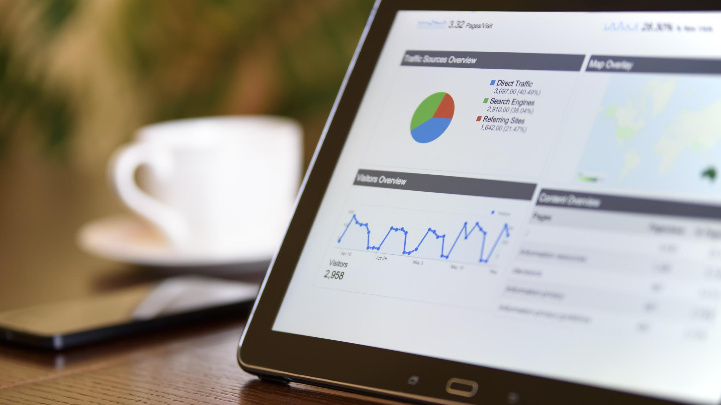 Websitereporting mit Google Analytics